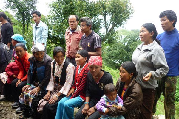 Local rural people in special program at GSF owned clinic